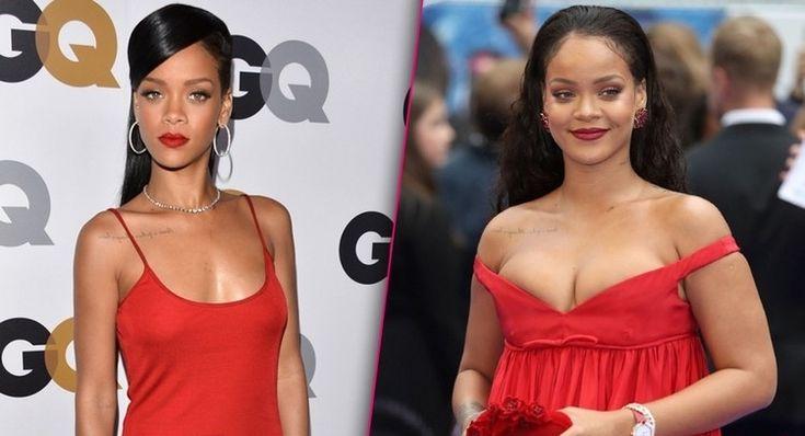 Taille de Rihanna avant après effet yoyo tendances mode femmes rondes #Rihanna #fashion