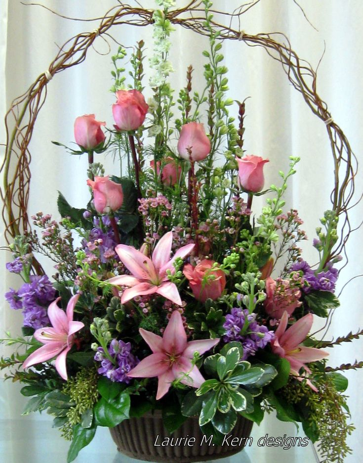 Prachtvoller Blumenkorb!