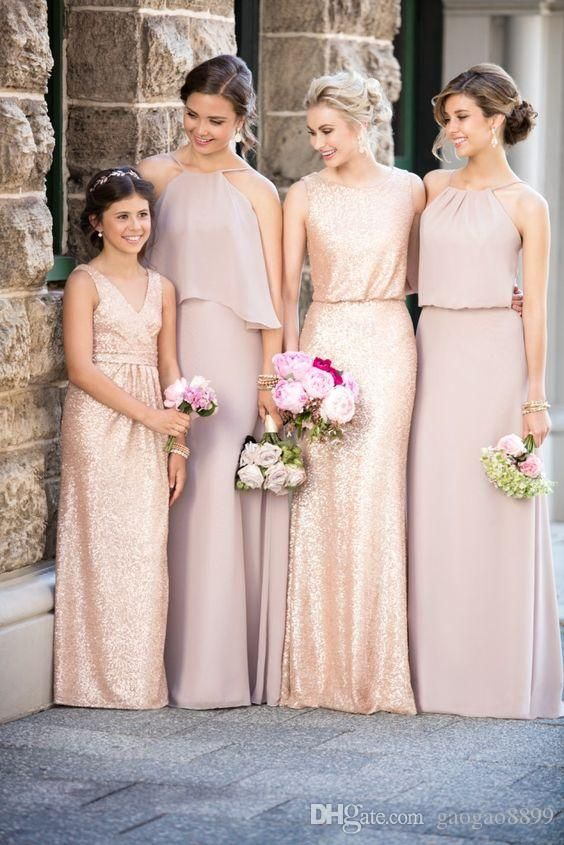 Sorella Vita Vintage Rose And Sequin Bridesmaid Dresses 2017 Fit And Flare Boho Country Garden Maid Of Honor Wedding Party Gowns Cheap Brides Maid Dresses Burgundy Bridesmaid Dresses From Gaogao8899, $75.38  Dhgate.Com