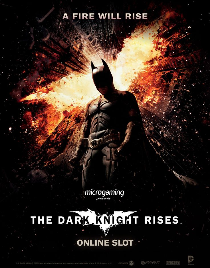 The Dark Knight Rises Online Slot Game