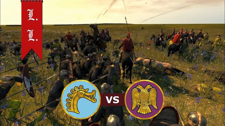 Attila Total War - Online Battle - 1vs1 Danes vs Eastern Roman Empire (#...