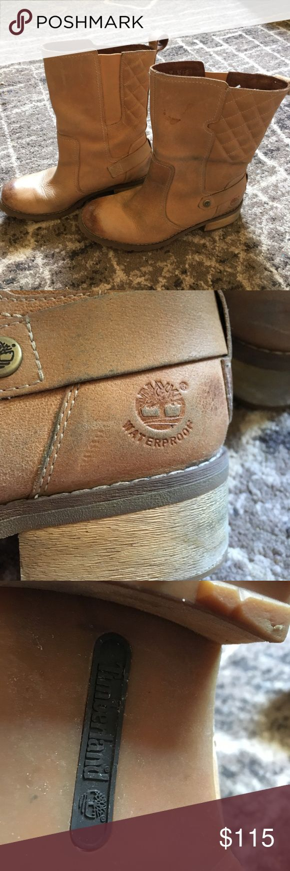 Women's Timberland fall / winter boots waterproof In excellent condition -- barely worn! Size 8 or EUR 39. TimberDry waterproof boots by Timberland. Timberland Shoes Winter & Rain Boots