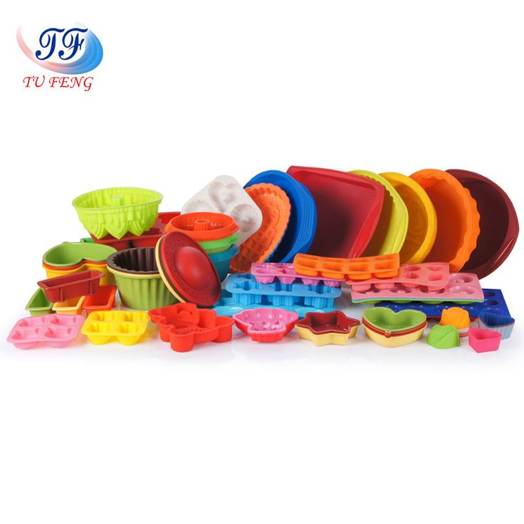 High quality silicone baking molds meet with FDA/LFGB