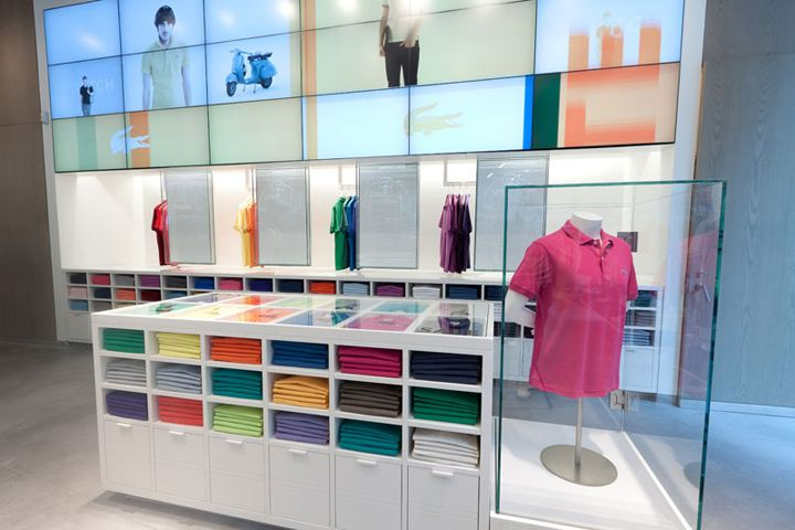 Lacoste flagship store by Design Republic Partners, New York store design