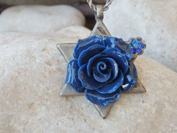 Star of David necklace.Star of David pendant.Judaica #jewelry #necklace @EtsyMktgTool http://etsy.me/2zNO1PN