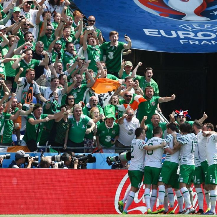 Robbie Brady thanks Republic of Ireland fans for Euro 2016 support