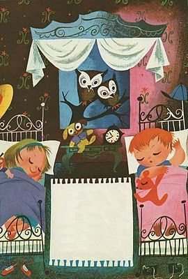 How I wish more of Mary Blair's illustrations were available as prints. They are so classic and sweet.