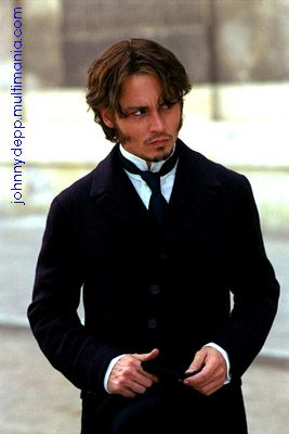 "1880's fashion: Johnny Depp in ""From Hell"""