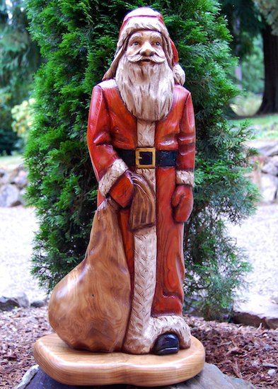 Images about santa s carved painted on pinterest