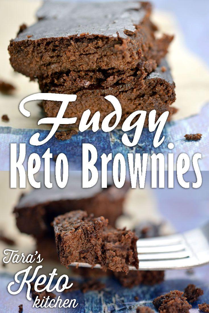 Fudgy Keto Brownies 3 Net Carbs Recipe Keto Brownies Low