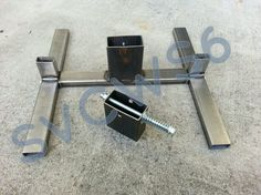 2x4 AND 1x2 combo Welded Steel target stand - Calguns.net