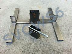 2x4 AND 1x2 combo Welded Steel target stand - Calguns.net