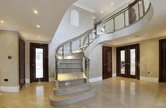 Best 17 Best Decor Ideas For Curved Stairway Entry Wall Images 400 x 300