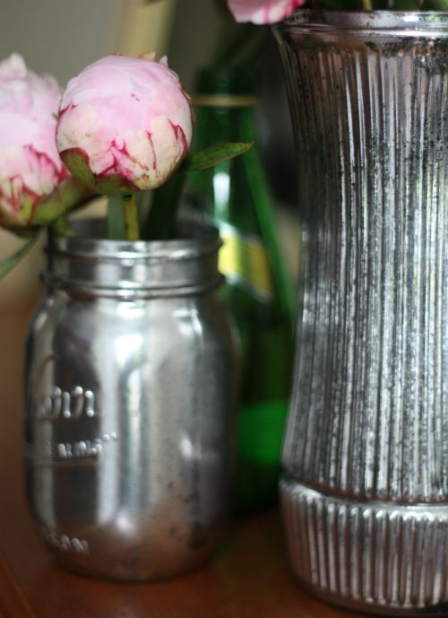 How To: DIY Antiqued Mercury Mirror Glass