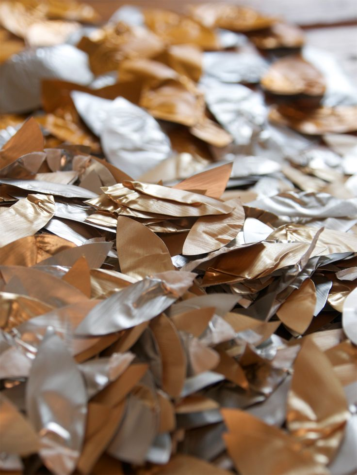 Aluminium Nespresso petals