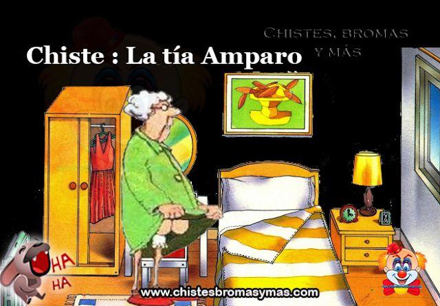 Mi anciana Tía Amparo era una mujer de 93 años que estaba particularmente afectada por la muerte reciente de su marido.     Ella decidió suicidarse y unirse a él en el más allá.