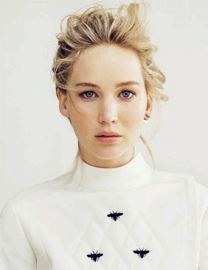 Jennifer Lawrence - Marie Claire France Photoshoot 2017