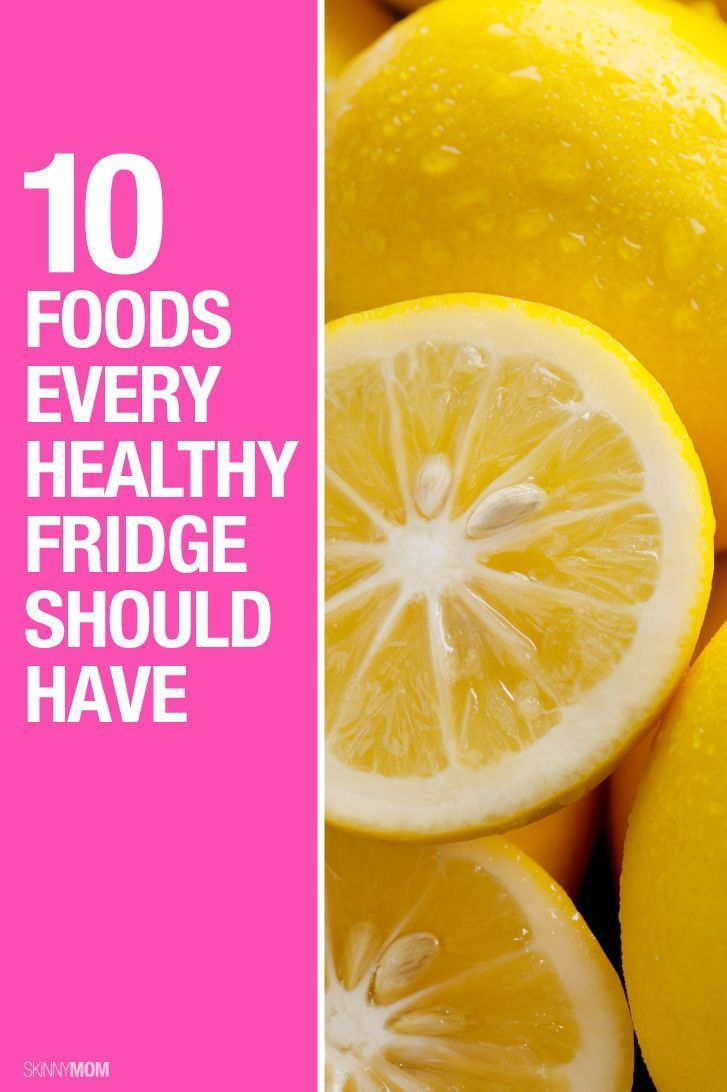 Do you have these healthy foods in your fridge?