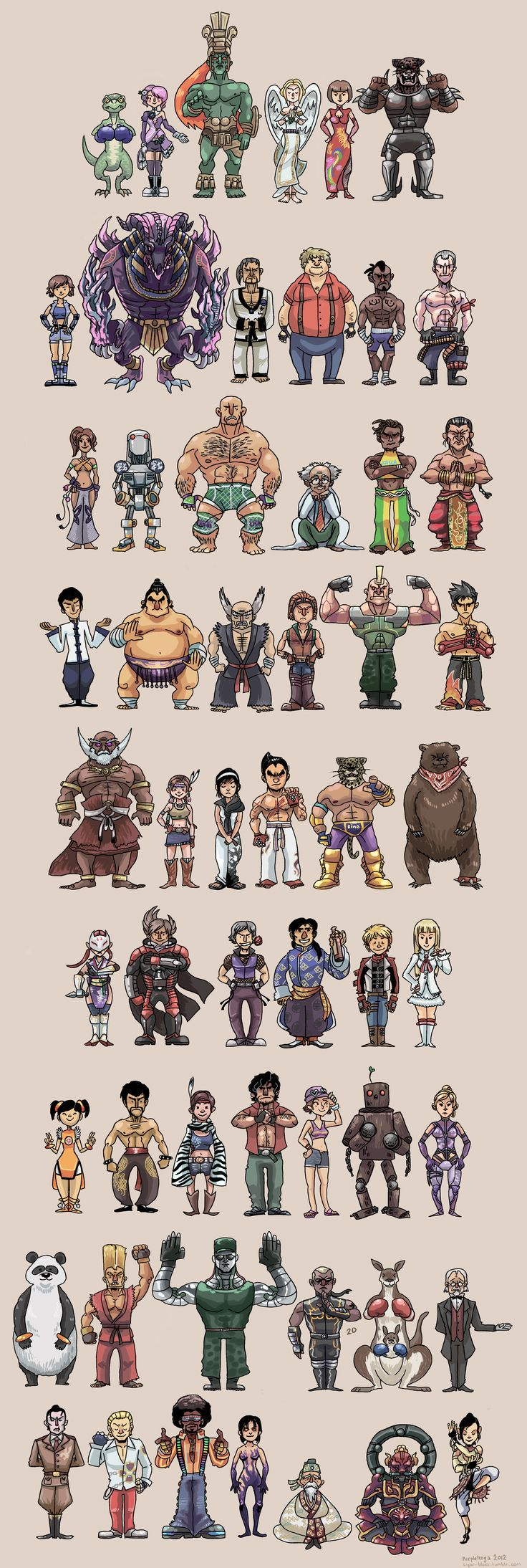 WE ARE TEKKEN (FULL VERSION) by *PurpleKoga on deviantART