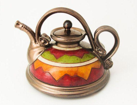 Théière en céramique poterie thé pots théière en céramique art antique thé théière design unique théière en verre