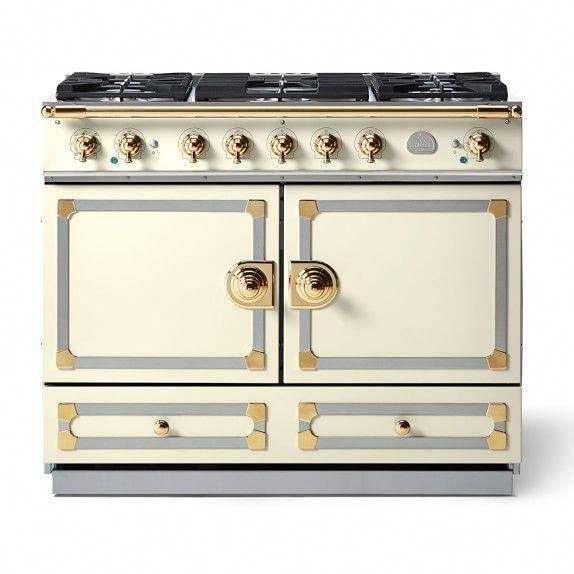 La Cornue Cornuf 233 110 Range Suzanne Kasler Collection Blanc La Cornue La Cornue Stove Kitchen Remodel Cost