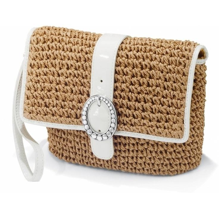 Brighton Dottie Straw pouch