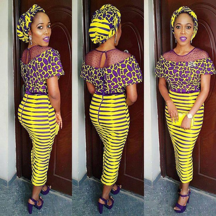 Best Nigerian Ankara Styles Ideas On Pinterest Ankara