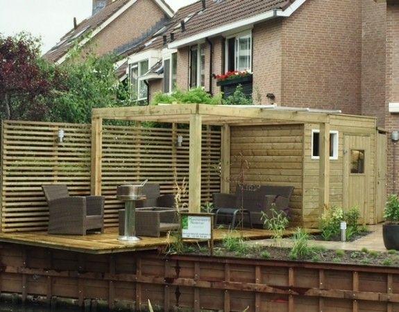 1000 images about overkappingen buitenkamers en pergola 39 s on pinterest outdoor living - Overdekte patio pergola ...
