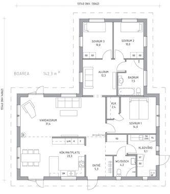 52 besten grundriss stadtvilla bilder auf pinterest grundriss einfamilienhaus kleine h user. Black Bedroom Furniture Sets. Home Design Ideas