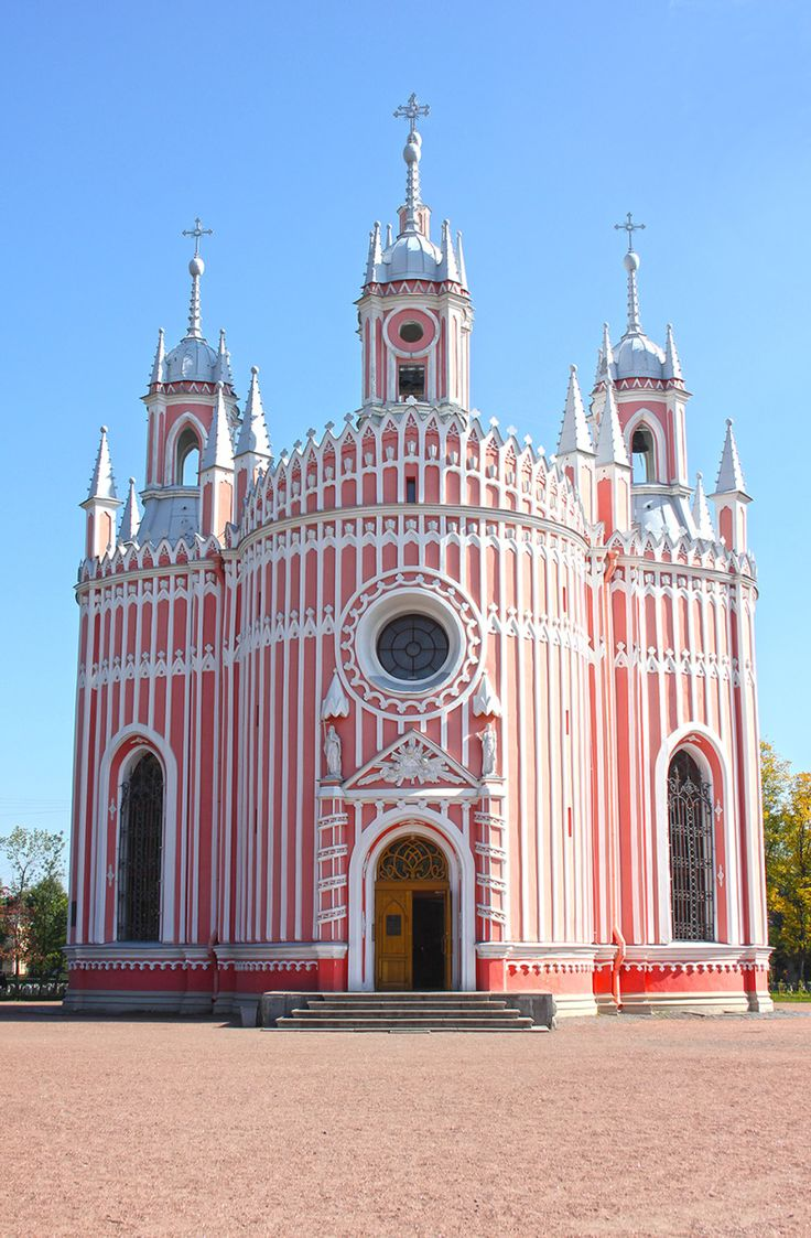 At one point in my life, I may have given the title of Europe's most beautiful city to Venice or Paris, but I couldn't possibly say that now I've been to St Petersburg.  Elegant yet statuesque, if St Petersburg were a woman she'd bring even Casanova down onto his knees.  (Photo of Chesme Church in St Petersburg #Russia)