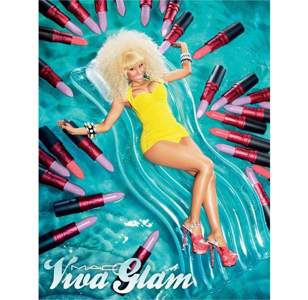 DAZZLE BEAUTIE : MAC VIVA GLAM: Nicki Minaj debuts new Lavender ...