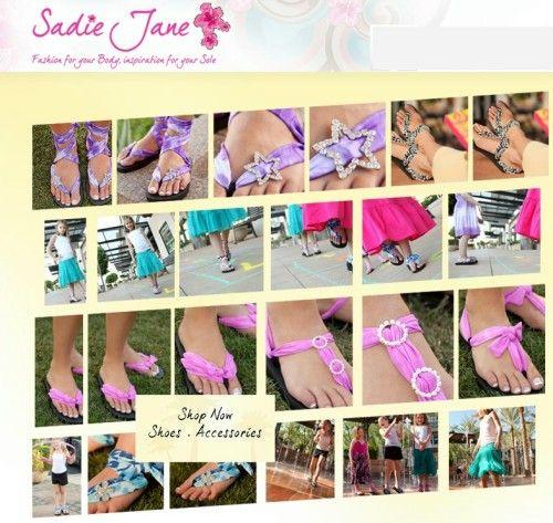 sadie jane shoes... DIY