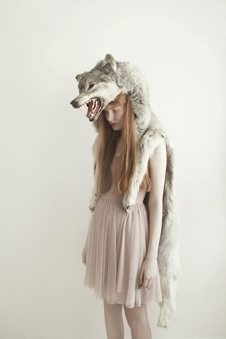 I'll note that I'm a vegetarian that is against fur but this is somehow really lovely.