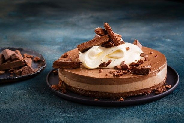 Tim Tam cheesecake