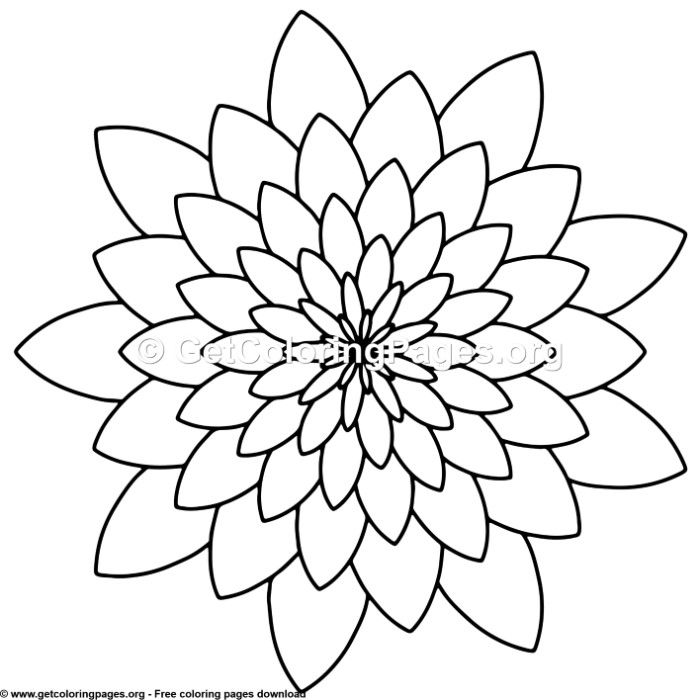 Therapeutic Mandala Coloring Pages Page 4 Getcoloringpages Org Mandala Coloring Pages Mandala Coloring Simple Mandala