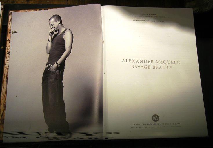Alexander McQueen book Savage beauty