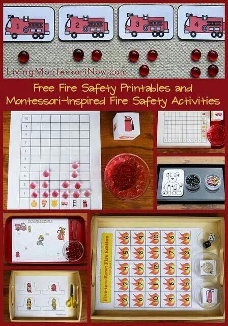 Kindergarten Readiness Calendar Arkansas : Best fire prevention poster images on pinterest