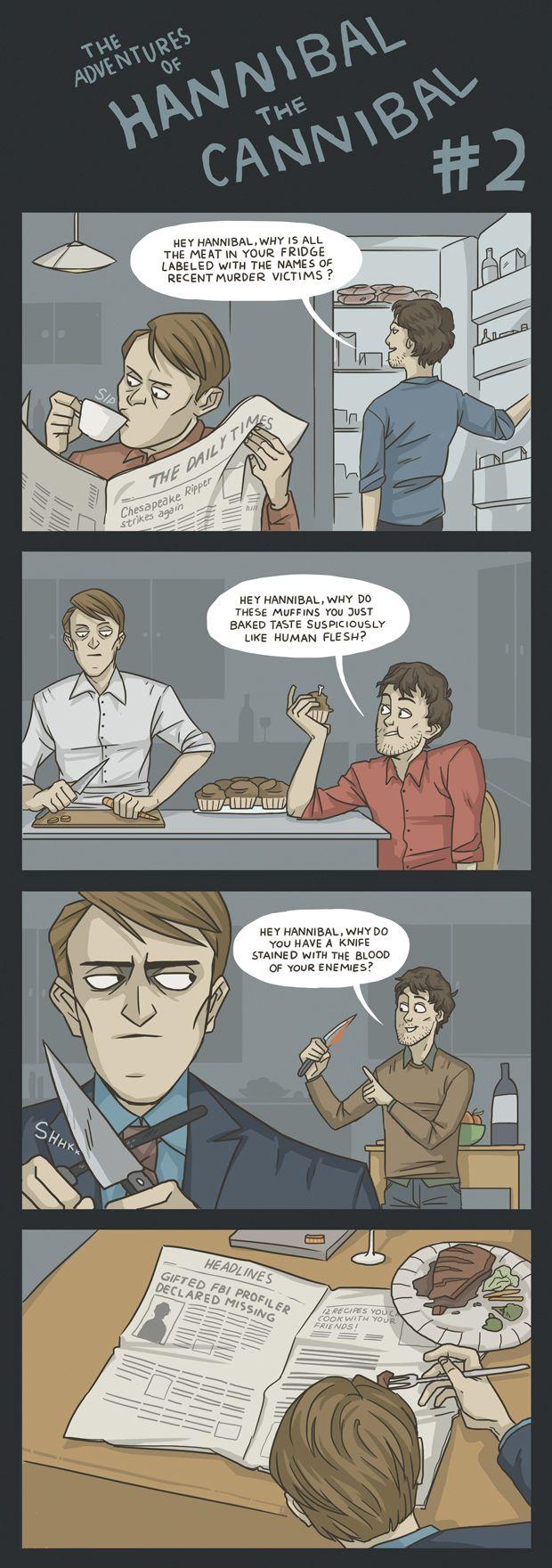 (Comic) The Adventures of Hannibal the Cannibal #2 by ekzotik.deviantart.com on @deviantART