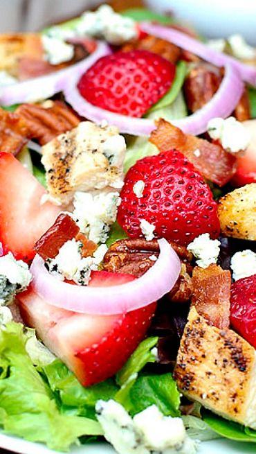 Loaded Strawberry Fields Salad