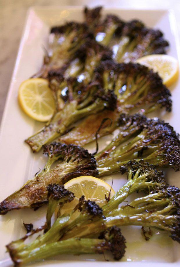 Roasted broccoli with a lemon twist