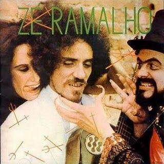 Capa Disco Zé Ramalho, Admirável Gado Novo (1979).