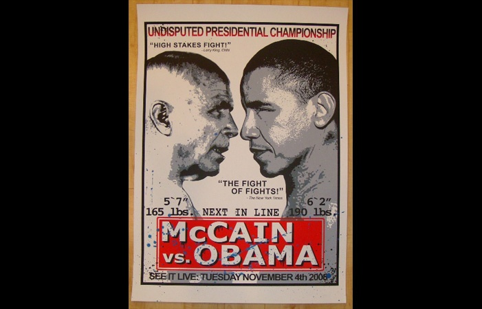 Image detail for -Obama vs McCain | LookforArt