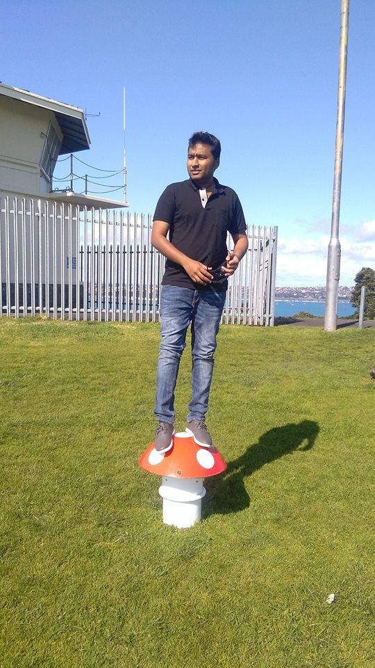 This is Sanket Pagare - he is an international student enrolled in the Post Graduate Diploma in Global Business at AUT.