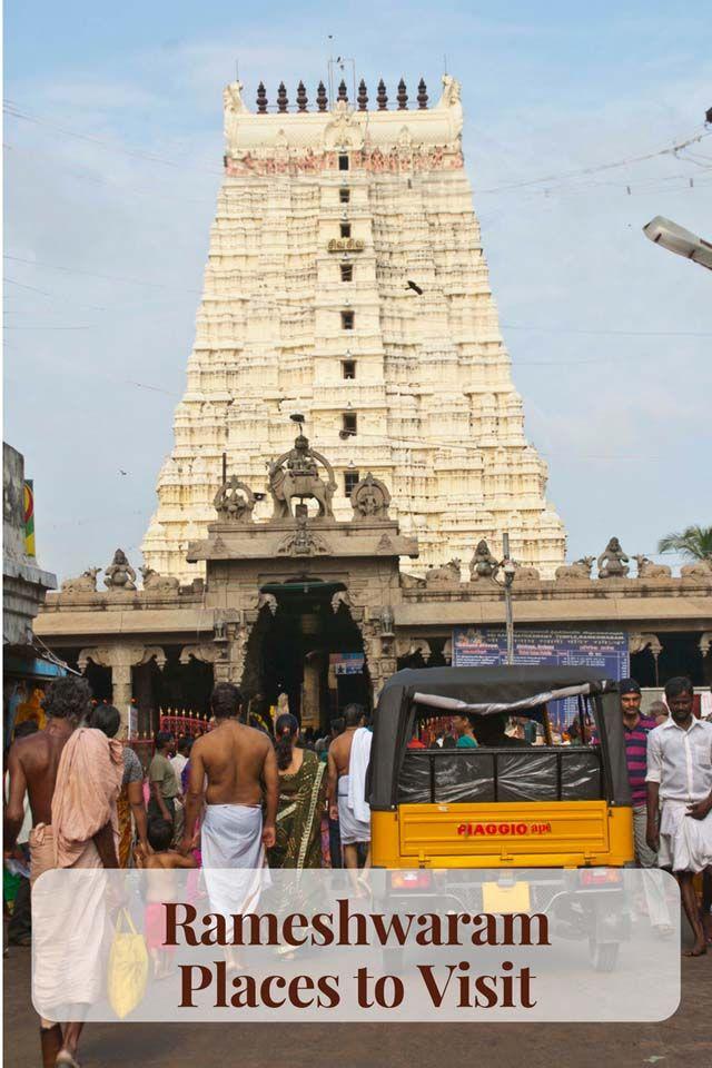 Rameshwaram – Ramanathaswamy Temple and Other Places to Visit #Rameshwaram #India