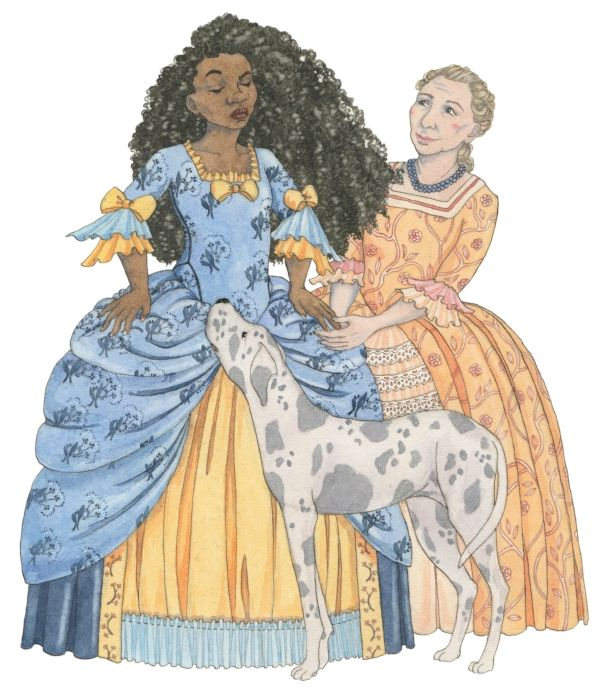 """The Princess and the Pea - Feminist Fairytales illustration. An illustrated book of five traditional fairytales, retold with a feminist twist. """"The Queen found some dry clothes for the Princess, and once she was warm and dressed in what the Queen considered to be garments much more suitable for a princess, they all returned to dinner."""""""