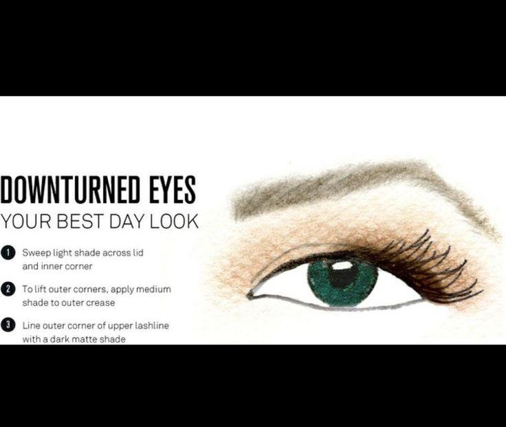 10 best downturned eyes images on pinterest all eyes almond eye shadow for downturned eyes eye makeup tipsmakeup ccuart Gallery