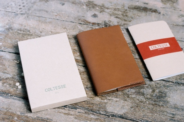 LEATHER NOTEBOOK COVER BY COLTESSE