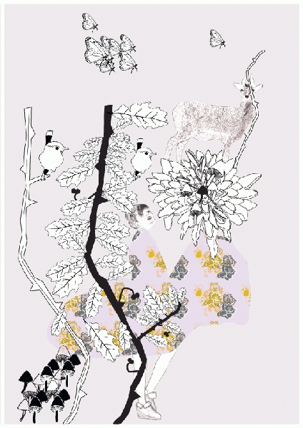 Poster (Studio Lilesadi) Dinah Smutny - designjunky
