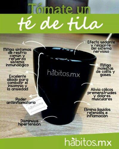 Beneficios de la tila. #salud #infusiones #bienestar