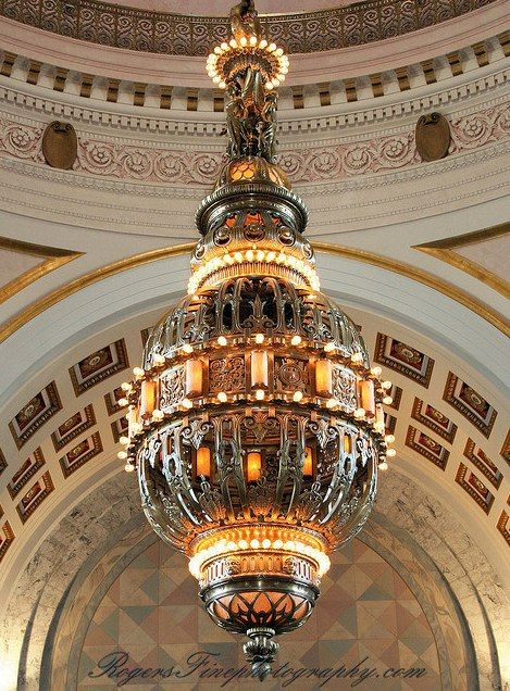 Chandelier ~ State Capitol Building ~ Olympia ~ Washington